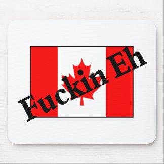 F*ckin (カナダの旗) マウスパッド