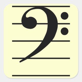F clef シール
