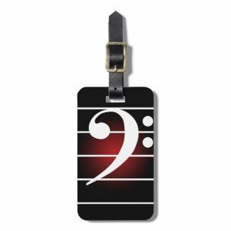 F clef 2 トラベルバッグタグ