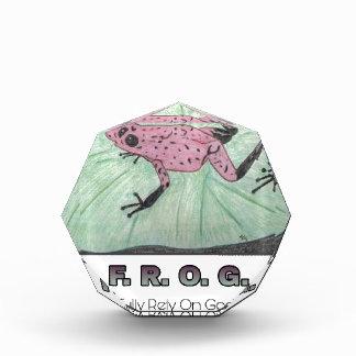 F.R.O.G. -十分に神に頼って下さい 表彰盾