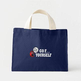 F (urlough)あなた自身のトートは行きます ミニトートバッグ