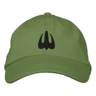 FAによって刺繍されるロゴの帽子 刺繍入りキャップ