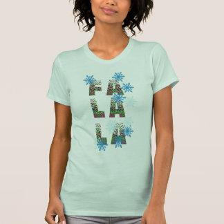 FaのLaのLaのクリスマスのワイシャツのデザインのギフトアイディア Tシャツ