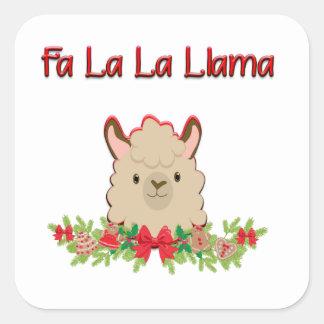 FaのLaのLaのラマ スクエアシール