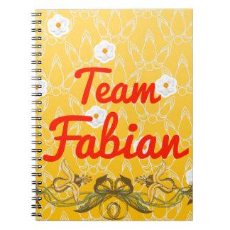 Fabianチーム ノートブック