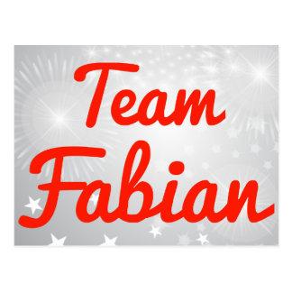 Fabianチーム ポストカード