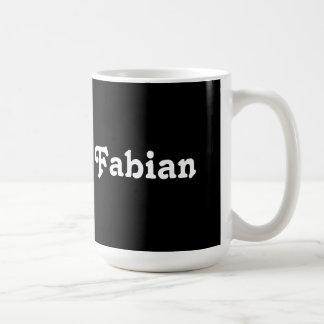 Fabianマグ コーヒーマグカップ
