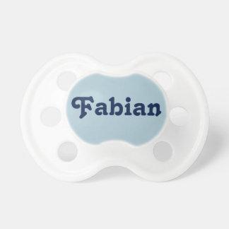 Fabian調停者 おしゃぶり