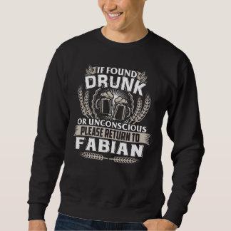 FABIAN Tシャツがあること素晴らしい スウェットシャツ