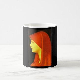 Fabiola',ジーンジェイクスHenner_Portraits コーヒーマグカップ