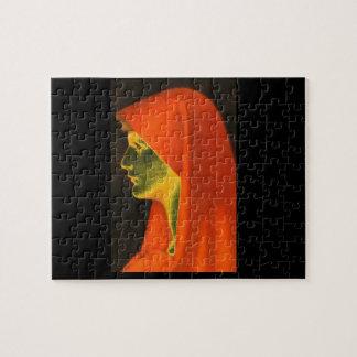 Fabiola',ジーンジェイクスHenner_Portraits ジグソーパズル