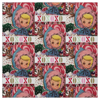Fabric Susie Skier XOX氏 ファブリック