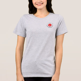 Fabsolute優先順位のロゴのワイシャツ Tシャツ