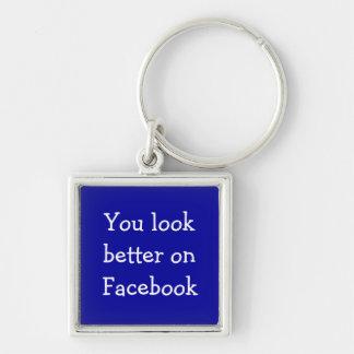 Facebookのキーホルダーでよりよく見ます キーホルダー