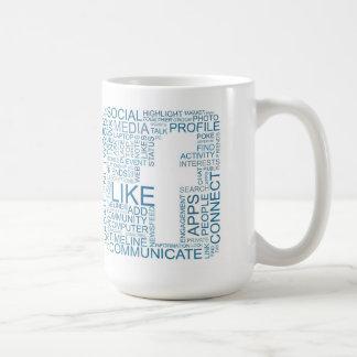 Facebookのマグ コーヒーマグカップ
