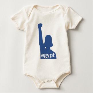 Facebookはエジプト-女性--を支えます ベビーボディスーツ