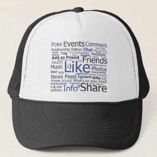 Facebook -のような、付く袋友人 キャップ