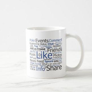 Facebook コーヒーマグカップ