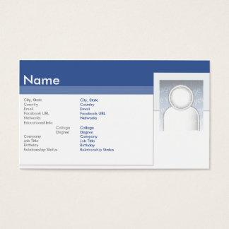 Facebook -ビジネス 名刺