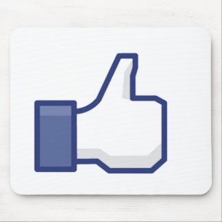 Facebook マウスパッド