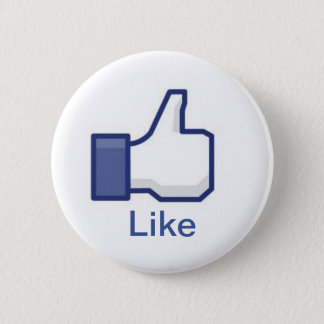 Facebook 5.7cm 丸型バッジ