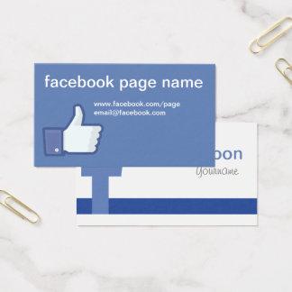 Facebook CC0059の名刺 名刺
