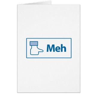 Facebook Meh カード