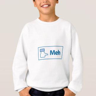 Facebook Meh スウェットシャツ