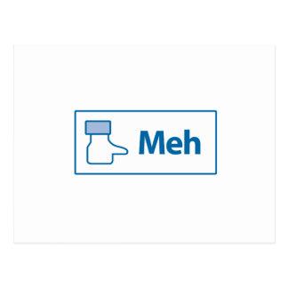 Facebook Meh ポストカード