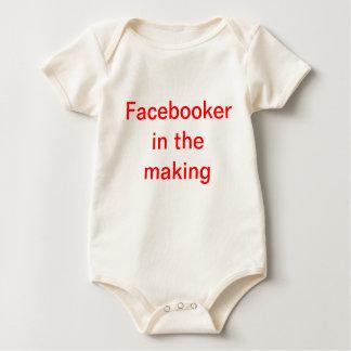 Facebooker ベビーボディスーツ