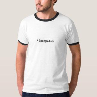*facepalm*のTシャツ Tシャツ
