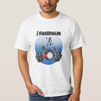 Facepalm (前部) tシャツ