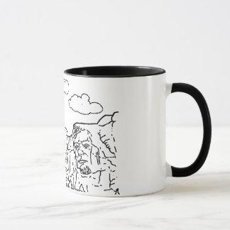 Facesラシュモア山の花こう岩の大統領の マグカップ