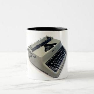 Facit TP1のタイプライター ツートーンマグカップ