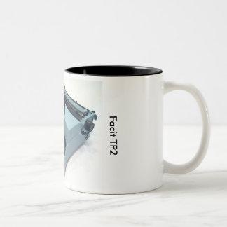 Facit TP2のタイプライター ツートーンマグカップ