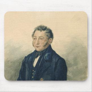 Faddey Venediktovich Bulgarin、c.1840のポートレート マウスパッド