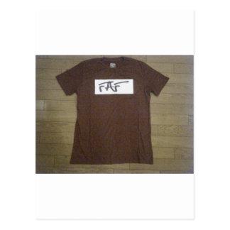 FAFのワイシャツ ポストカード