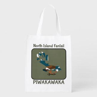 Faintailニュージーランドの鳥 エコバッグ
