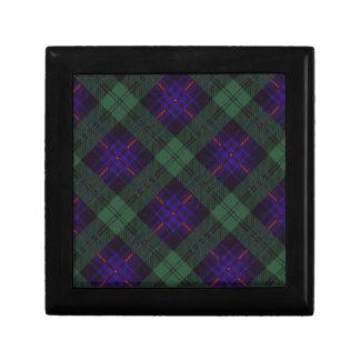 Fairbairnの一族の格子縞のスコットランドのキルトのタータンチェック ギフトボックス