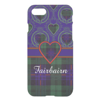 Fairbairnの一族の格子縞のスコットランドのキルトのタータンチェック iPhone 8/7 ケース