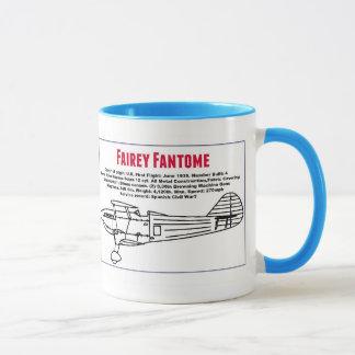 Fairey Fantomeの側面図および指定 マグカップ