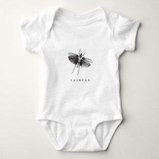 FairfaxのTシャツ-ガ ベビーボディスーツ
