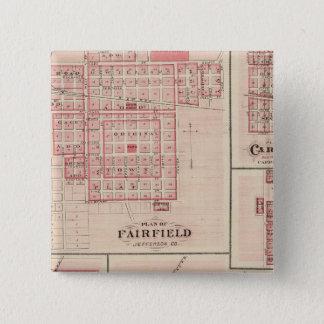Fairfield、Carroll、バーミンガム、Dunlap 5.1cm 正方形バッジ