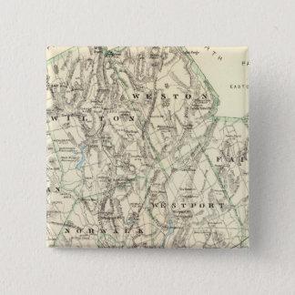 Fairfield Co S 5.1cm 正方形バッジ