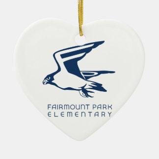 Fairmountあなたの公園に基本的な精神を示して下さい! セラミックオーナメント