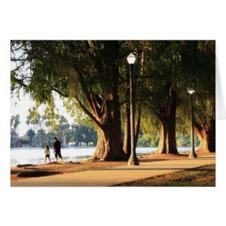 Fairmount公園-川岸、カリフォルニア グリーティングカード