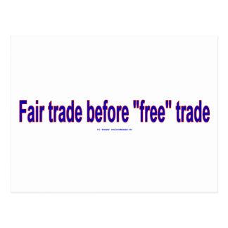 FairTradeBeforeFree ポストカード