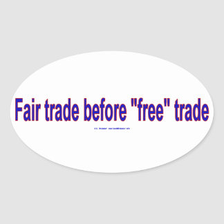 FairTradeBeforeFree 楕円形シール