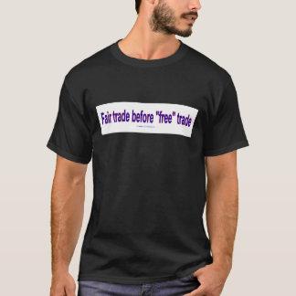 FairTradeBeforeFree Tシャツ