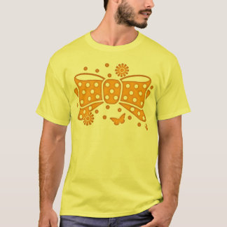 Fake_Ribbon Tシャツ
